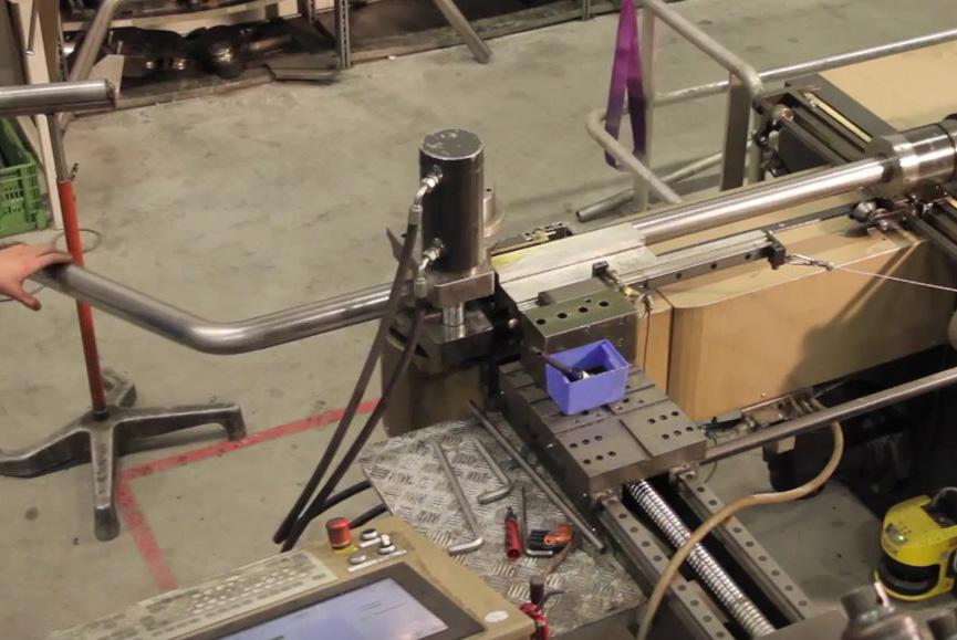 Ramproduktion böj 1 klar